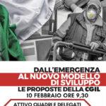 Attivo dei quadri e delegati della Cgil Pescara: Dall'emergenza al nuovo modello di sviluppo