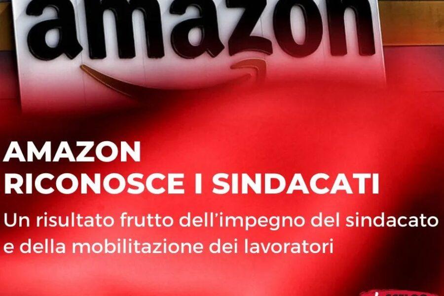 Amazon riconosce il sindacato